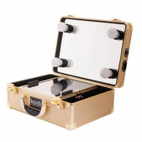 Купить Кейс-студия для визажистов Kodi Professional №34 (Золото)