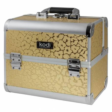 Купить Кейс для косметики Kodi Professional №37 (Желтый лист)