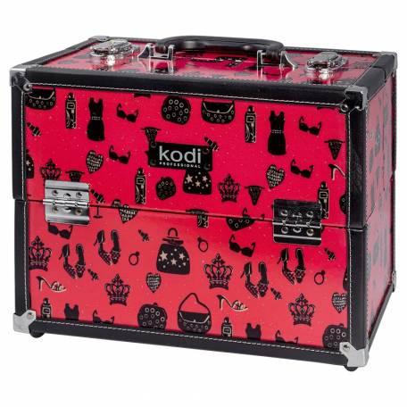 Купить Кейс для косметики Kodi Professional №38 (Красный)