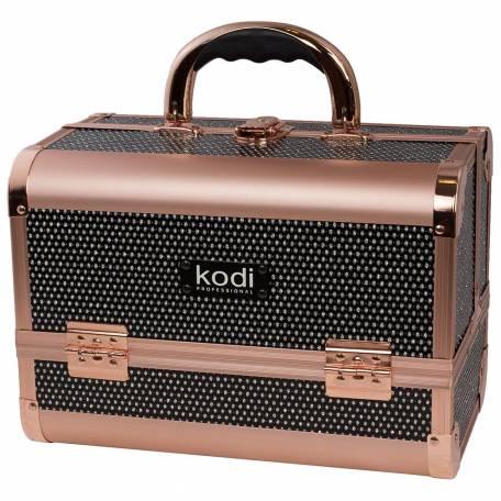 Купить Кейс для косметики Kodi Professional №45 (Черный диамант)