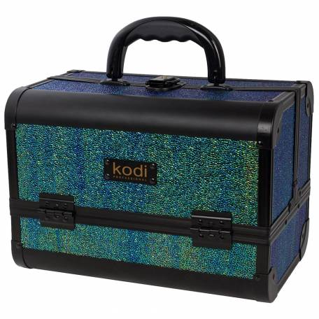 Купить Кейс для косметики Kodi Professional №45 (Малахит)