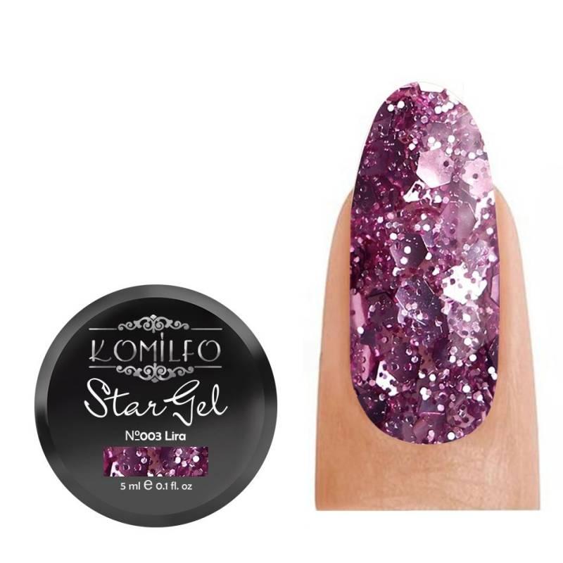 Купить Гель-краска Komilfo Star Gel №003 Lyra, 5 мл