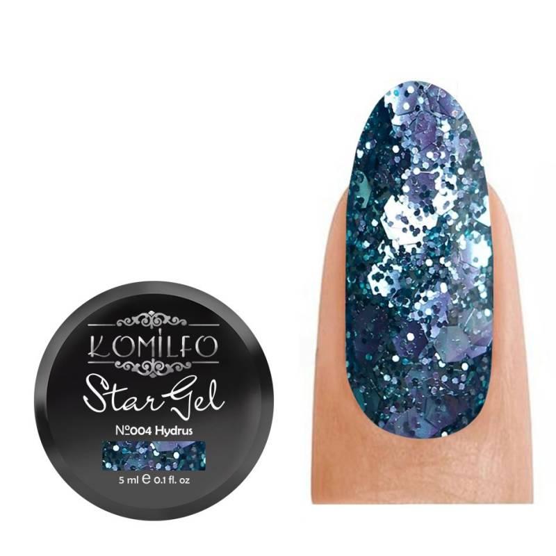 Купить Гель-краска Komilfo Star Gel №004 Hydrus, 5 мл