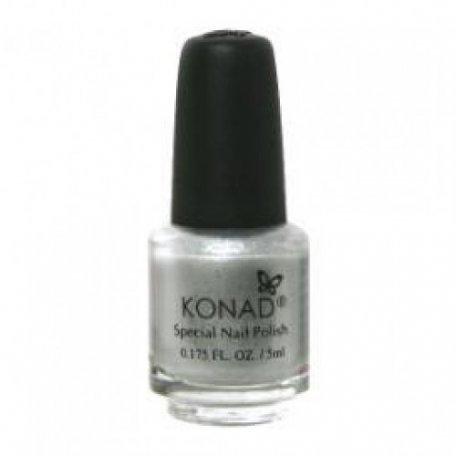 Оригинальные лаки для стемпинга Konad - Лак для стемпинга Konad Silver 11 ml