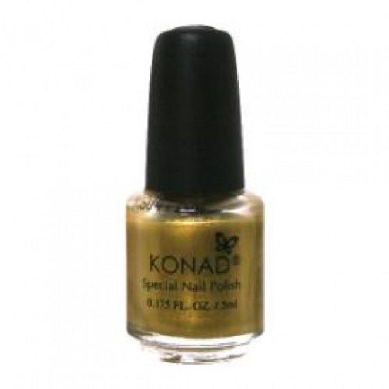 Лак для стемпинга Konad Gold 5 ml купить интернет-магазине Nailsmania.ua с бесплатной доставкой по Украине.