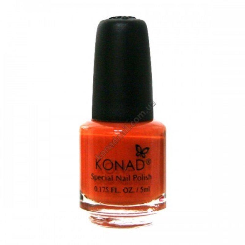 Лак для стемпинга Konad Pastel Orange 5 ml купить интернет-магазине Nailsmania.ua с бесплатной доставкой по Украине.