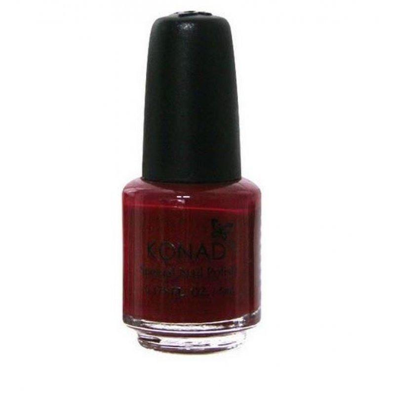 Лак для стемпинга Konad Dark Red 5 ml купить интернет-магазине Nailsmania.ua с бесплатной доставкой по Украине.