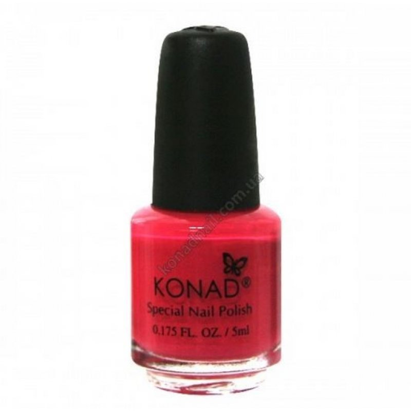 Лак для стемпинга Konad Psyche Pink 5 ml купить интернет-магазине Nailsmania.ua с бесплатной доставкой по Украине.