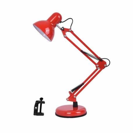 Купити Настільна лампа для манікюру 2в1 з підставкою і струбциною Червоний