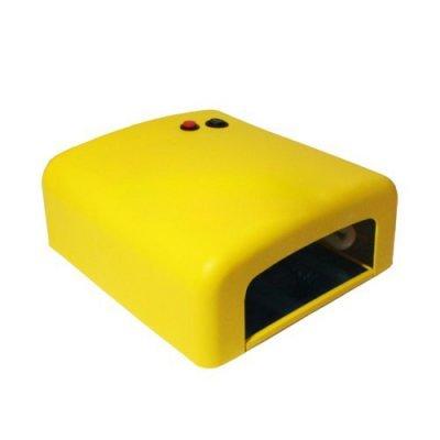 Уф лампа 818 с таймером 120сек, 36 Вт (желтая)