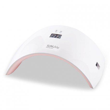 Универсальная UV LED лампа Sun9X 24 Вт (для геля и гель-лака) с дисплеем и USB кабелем