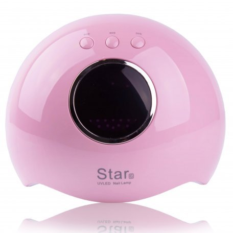 Купить UV/LED Лампа для маникюра SUN Star 6 24 Вт Розовая