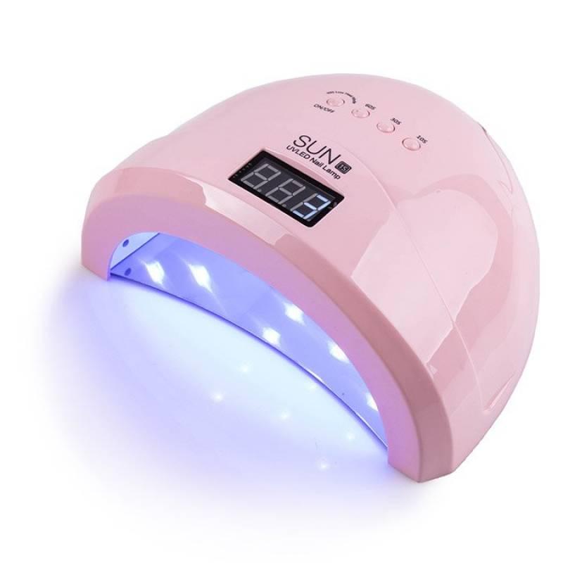 Купить UV-LED лампа SUN 1S Professional 48 Вт (Розовая)