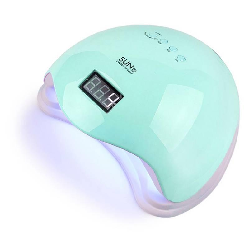 Купить UV/LED лампа Sun5 48 Вт Бирюзовая