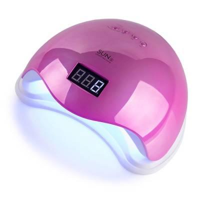 UV-LED лампа SUN 5 48 Вт Mirror Pink (Зеркальная розовая)
