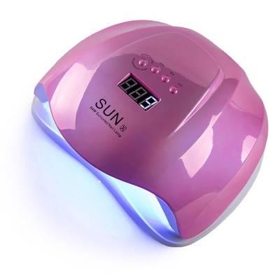 UV-LED лампа для маникюра универсальная Sun X mirror pink 54 Вт (Зеркальная розовая)