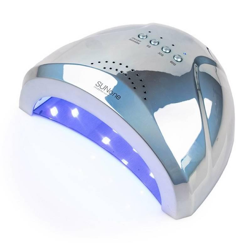 Купить UV-LED лампа SUN One Professional 48 Вт Mirror Blue (Зеркальная голубая)