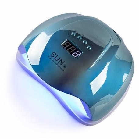 Купити UV-LED лампа для маникюру універсальна Sun X mirror blue 54 Вт (Дзеркальна голуба)