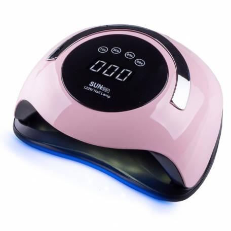 Купить UV-LED лампа SUN BQ-5T 120 Вт (Розовая)
