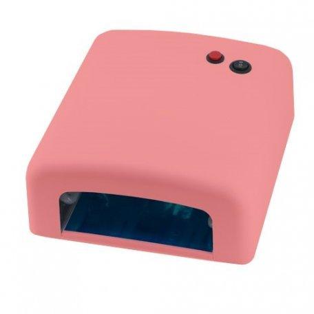 Уф лампа 818 с таймером 120сек, 36 Вт (розовая) купить интернет-магазине Nailsmania.ua с бесплатной доставкой по Украине.