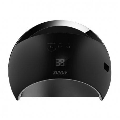 Уф LED лампы для маникюра - Универсальная UV LED лампа Sun6 48 Вт (черная)