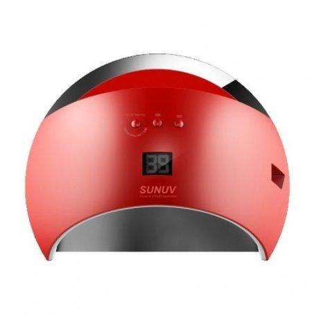 Уф LED лампы для маникюра - Универсальная UV LED лампа Sun6 48 Вт (красная)