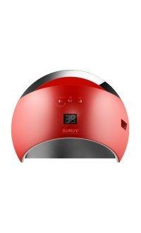UV-LED лампа для маникюра универсальная Sun 6 48 Вт (Красная)