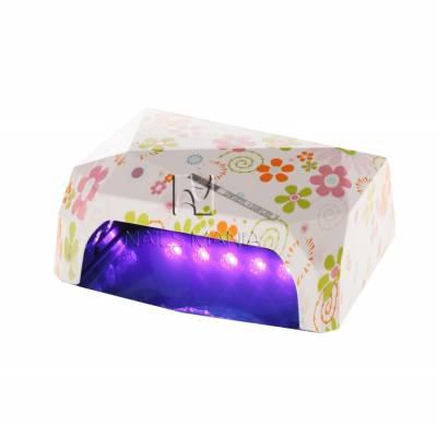 УФ LED+CCFL лампа (таймер 30, 60 и 90 сек) 36 Вт H-1