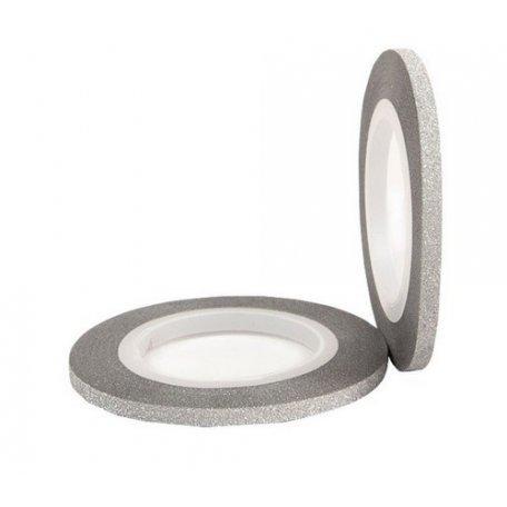 Бархатная лента для ногтей (серебро), 3 мм купить интернет-магазине Nailsmania.ua с бесплатной доставкой по Украине.