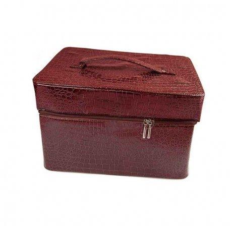 Чемодан для мастера YRE квадрат коричневый