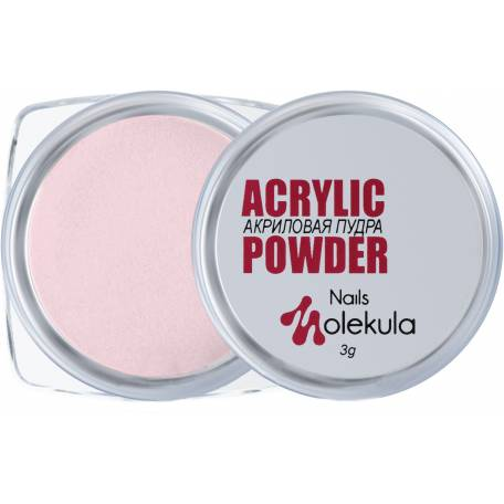 Акриловая пудра Molekula №002 (Розовая)