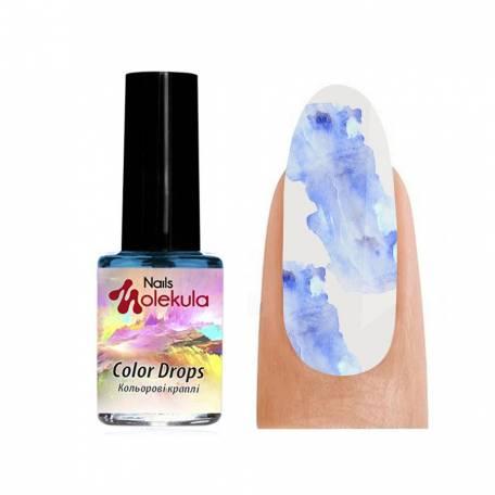 Акварель Molekula Color Drops Blue (Голубой), 6 мл