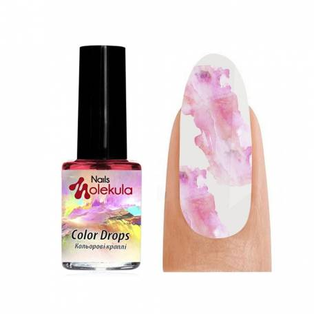 Купить Акварель Molekula Color Drops Pink (Розовый), 6 мл