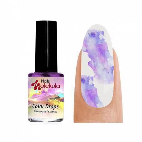 Акварель Molekula Color Drops Violet (Фиолетовый), 6 мл
