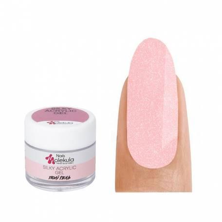Купить Полигель с шиммером Molekula Shimmery Silky Acrylic Gel №006 Flamingo