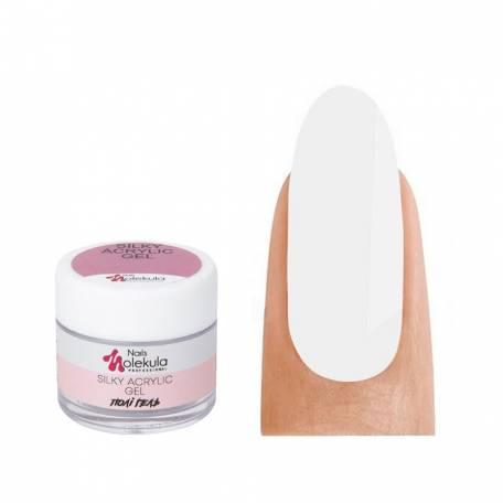 Купить Полигель Molekula Silky Acrylic Gel №002 Silky White