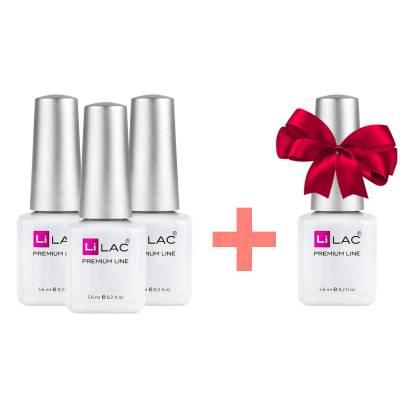 Набор гель-лаков LiLAC Premium Line 3+1 в подарок