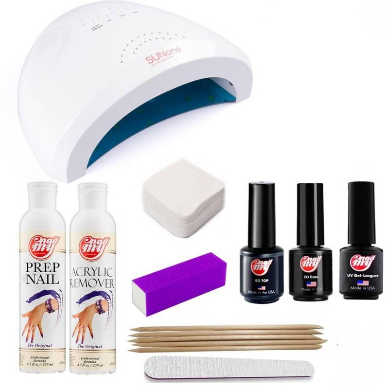 Купить Стартовый набор гель-лаков My Nail (с LED+UV лампой SUN One 48W)