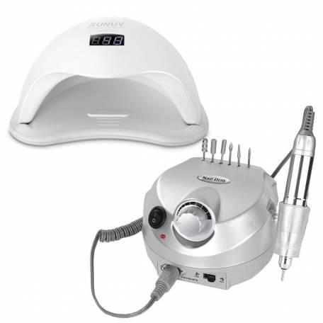 Купить Набор лампа Sun 5 48W + фрезер DM-202 35 000 об/мин