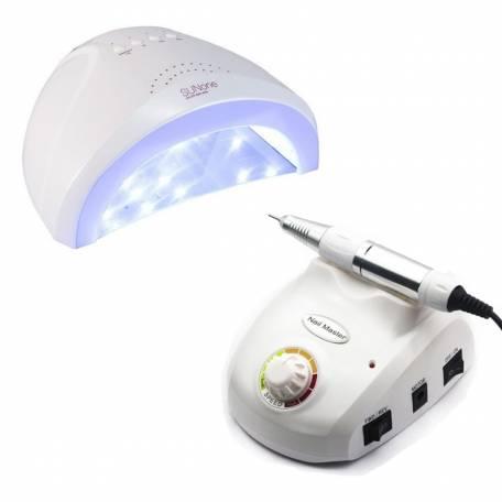 Купить Набор лампа Sun One 48W + фрезер Nail Master 30 000 об/мин