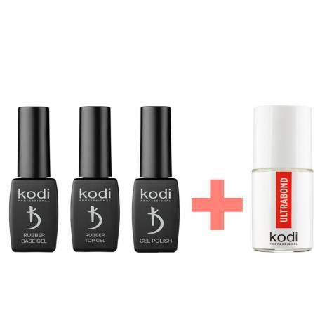Купити Набір допоміжних рідин Kodi Professional + Безкислотний праймер в подарунок