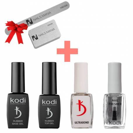 Купить Набор вспомогательных жидкостей Kodi Professional + Пилка и баф в подарок