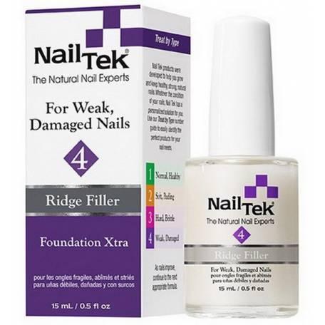 Купить Лечебное базовое покрытие Nail Tek Foundation XTRA, 15 мл