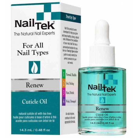 Купить Масло для кутикулы Nail Tek Renew Natural Cuticle Oil