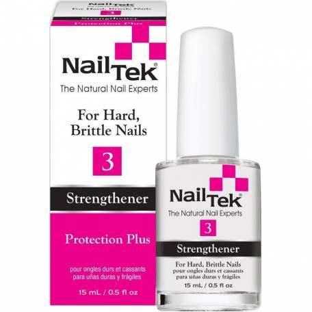 Купить Лечебное средство для ногтей Nail Tek Protection Plus 3, 15 мл