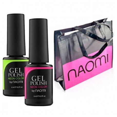 2 гель-лака Naomi + фирменная сумка