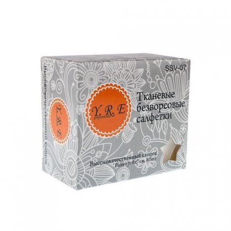 Безворсовые салфетки Y. R. E. 80 шт. купить интернет-магазине Nailsmania.ua с бесплатной доставкой по Украине.