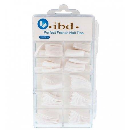 Формы и типсы - Типсы Ibd (белые) 100шт