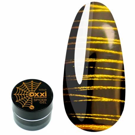 Купити Гель-фарба OXXI Spider Gel Gold Золото 5 мл