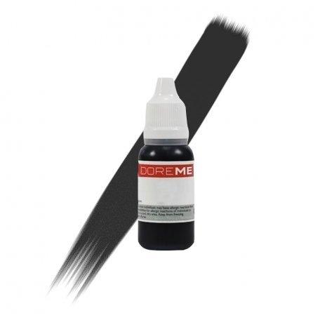 Пигмент для перманентного макияжа Doreme 101 Jet Black, 15 мл